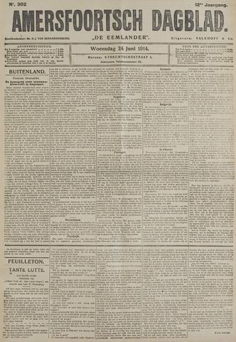 Amersfoortsch Dagblad / De Eemlander 1914-06-24