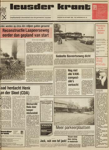 Leusder Krant 1984-10-30