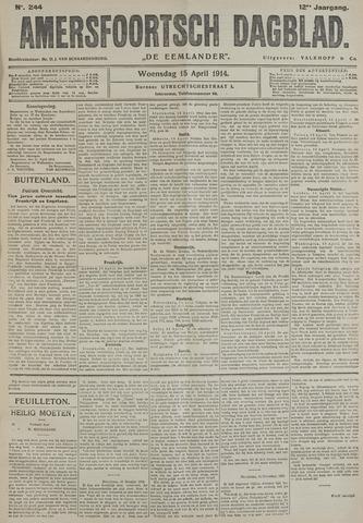 Amersfoortsch Dagblad / De Eemlander 1914-04-15