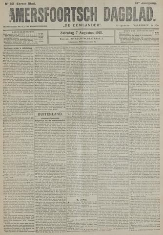 Amersfoortsch Dagblad / De Eemlander 1915-08-07