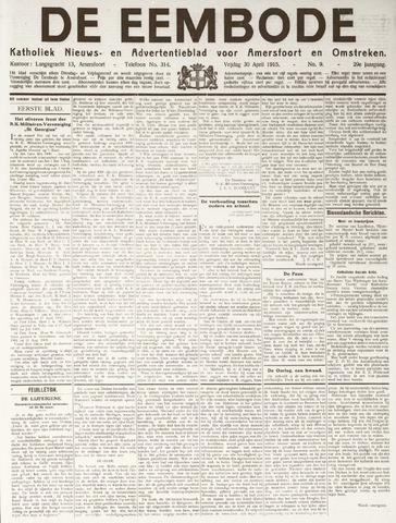 De Eembode 1915-04-30