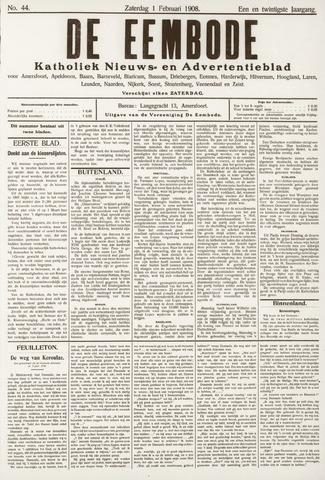 De Eembode 1908-02-01