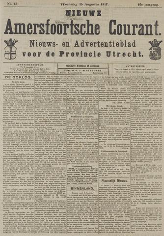 Nieuwe Amersfoortsche Courant 1917-08-15