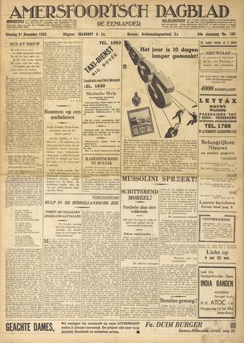 Amersfoortsch Dagblad / De Eemlander 1935-12-31