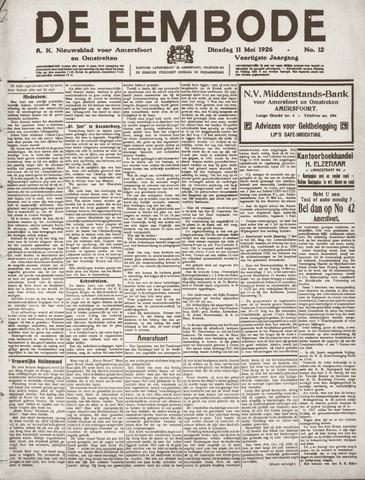 De Eembode 1926-05-11