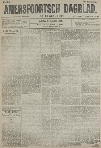Amersfoortsch Dagblad / De Eemlander 1914-01-09
