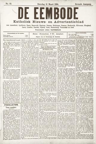 De Eembode 1894-03-31
