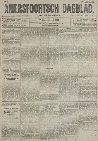 Amersfoortsch Dagblad / De Eemlander 1914-07-10