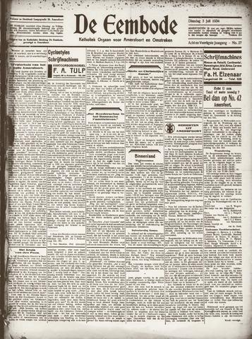 De Eembode 1934-07-03