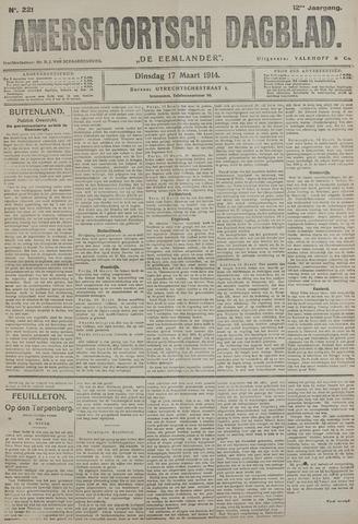 Amersfoortsch Dagblad / De Eemlander 1914-03-17