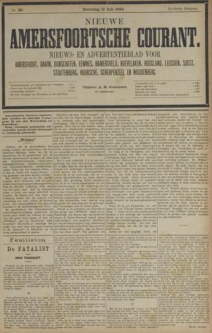 Nieuwe Amersfoortsche Courant 1884-07-12