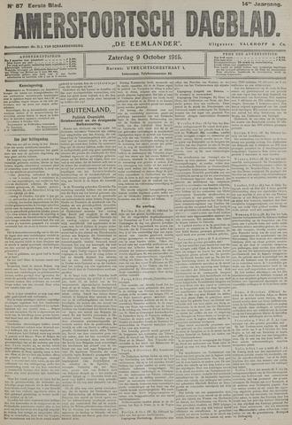 Amersfoortsch Dagblad / De Eemlander 1915-10-09