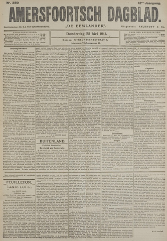 Amersfoortsch Dagblad / De Eemlander 1914-05-28