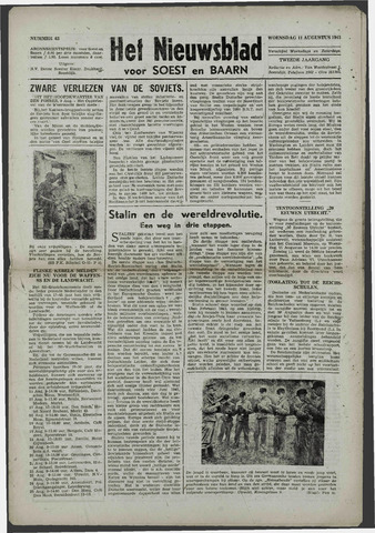 Soester Courant 1943-08-11