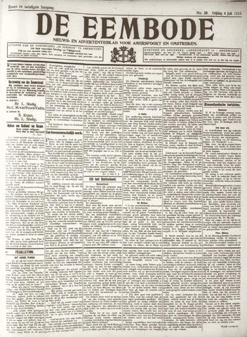 De Eembode 1913-07-04