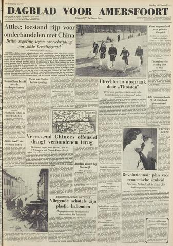Dagblad voor Amersfoort 1951-02-13