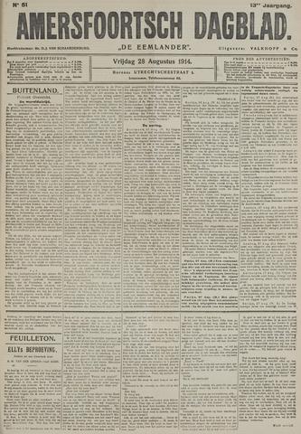 Amersfoortsch Dagblad / De Eemlander 1914-08-28