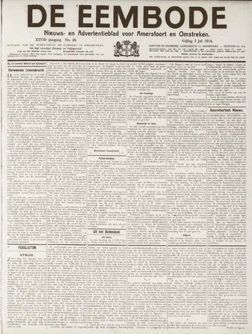 De Eembode 1914-07-03