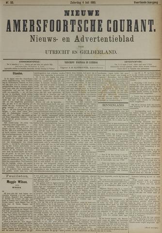 Nieuwe Amersfoortsche Courant 1885-07-04