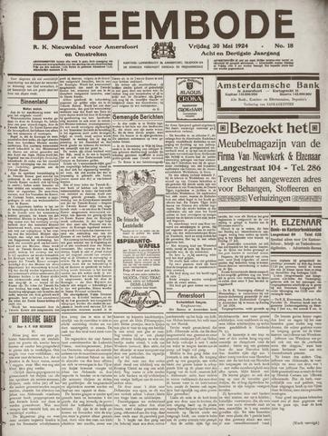 De Eembode 1924-05-30