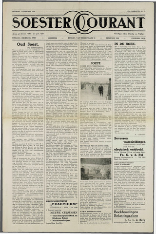 Soester Courant 1954-02-02