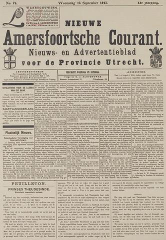 Nieuwe Amersfoortsche Courant 1915-09-15