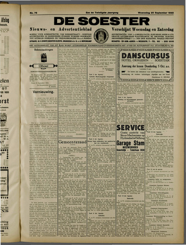 De Soester 1933-09-20