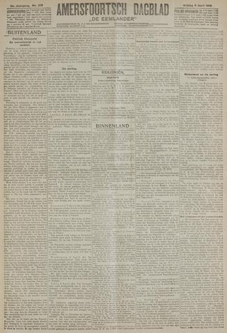 Amersfoortsch Dagblad / De Eemlander 1918-04-05