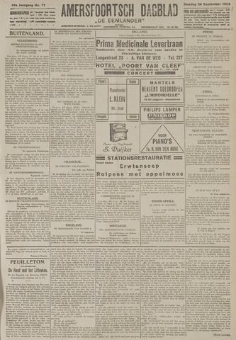 Amersfoortsch Dagblad / De Eemlander 1925-09-29