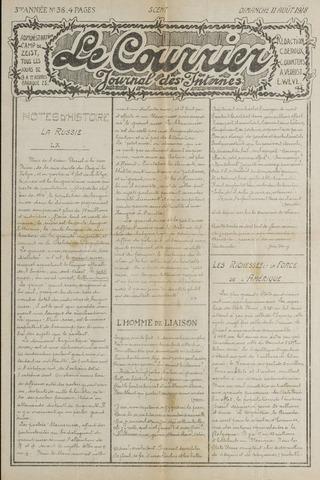 Le Courrier 1918-08-11