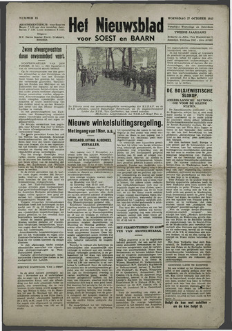 Soester Courant 1943-10-27