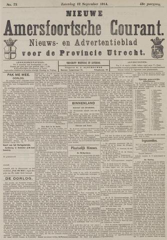 Nieuwe Amersfoortsche Courant 1914-09-12