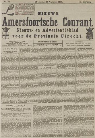 Nieuwe Amersfoortsche Courant 1916-08-23