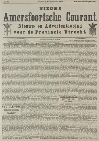 Nieuwe Amersfoortsche Courant 1909-09-15