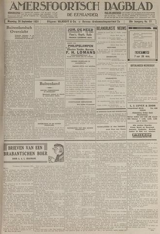 Amersfoortsch Dagblad / De Eemlander 1931-09-28