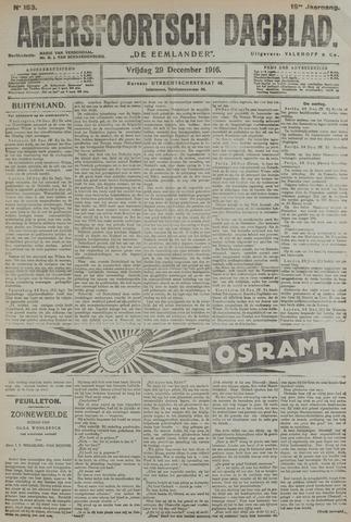Amersfoortsch Dagblad / De Eemlander 1916-12-29