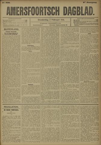 Amersfoortsch Dagblad 1911-02-02
