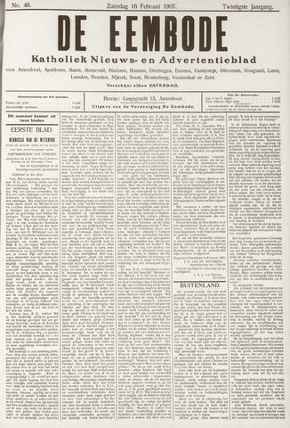 De Eembode 1907-02-16