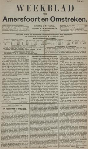 Weekblad voor Amersfoort en Omstreken 1872-11-02