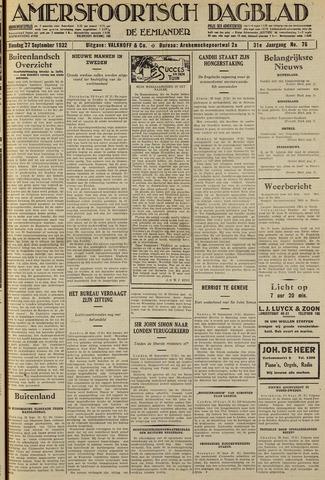 Amersfoortsch Dagblad / De Eemlander 1932-09-27