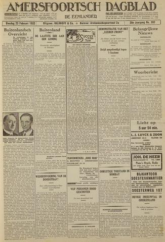 Amersfoortsch Dagblad / De Eemlander 1932-02-23