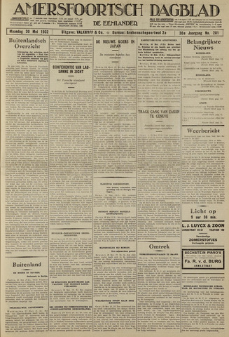Amersfoortsch Dagblad / De Eemlander 1932-05-30
