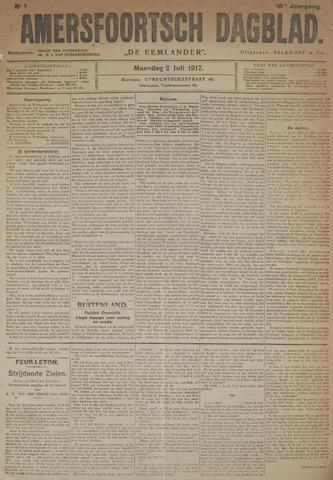Amersfoortsch Dagblad / De Eemlander 1917-07-02