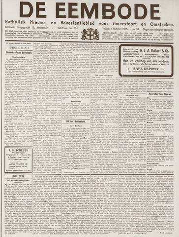 De Eembode 1915-10-01