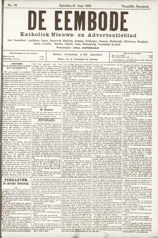 De Eembode 1898-06-25