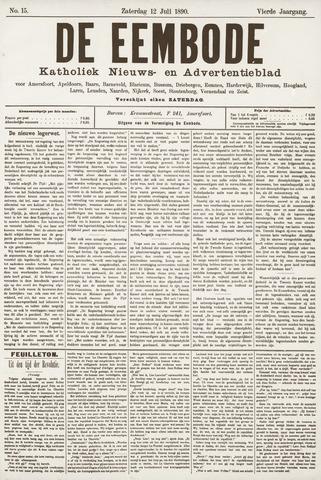 De Eembode 1890-07-12