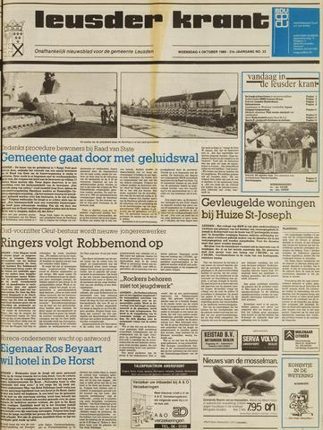Leusder Krant 1989-10-04