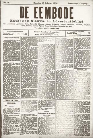 De Eembode 1904-02-13