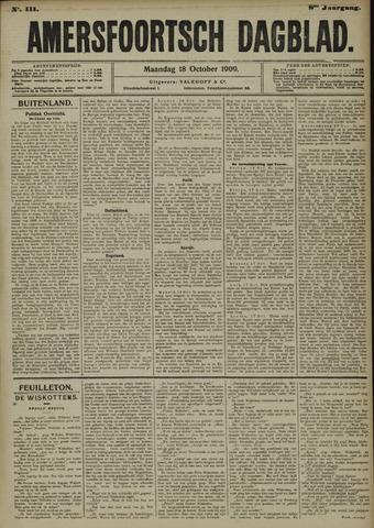 Amersfoortsch Dagblad 1909-10-18