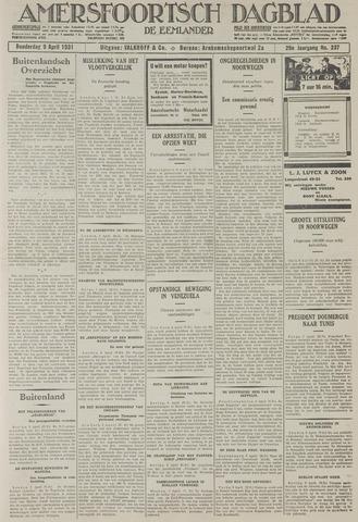 Amersfoortsch Dagblad / De Eemlander 1931-04-09